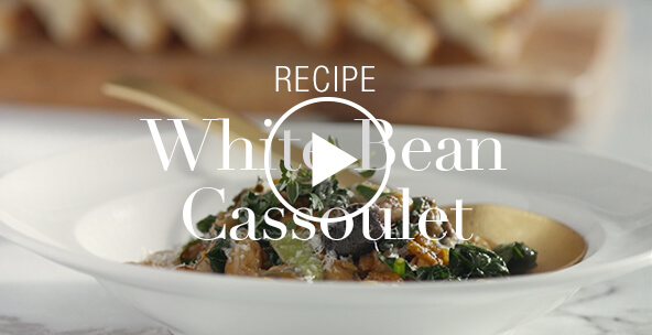 WHITE BEAN AND MUSHROOM CASSOULET