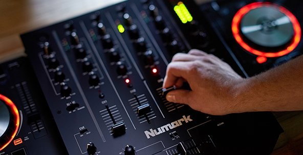 DJ Mixers from Numark