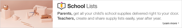 Find your school supply lists in one place