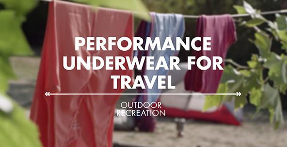 Performance Underwear for Travel