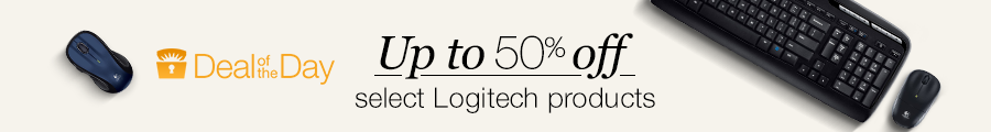 Up to 50% off select Logitech PC accessories