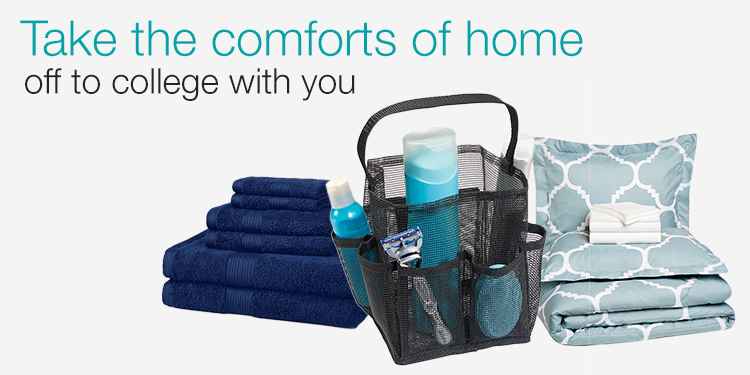 Take the comforts of home off to college