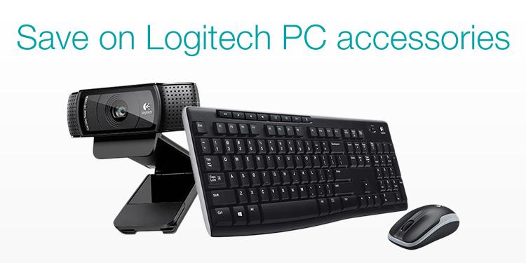 Save on Logitech PC accessories