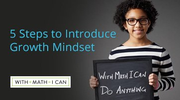 5 Steps to Introduce Growth Mindset