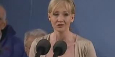 JK Rowling Video Clip