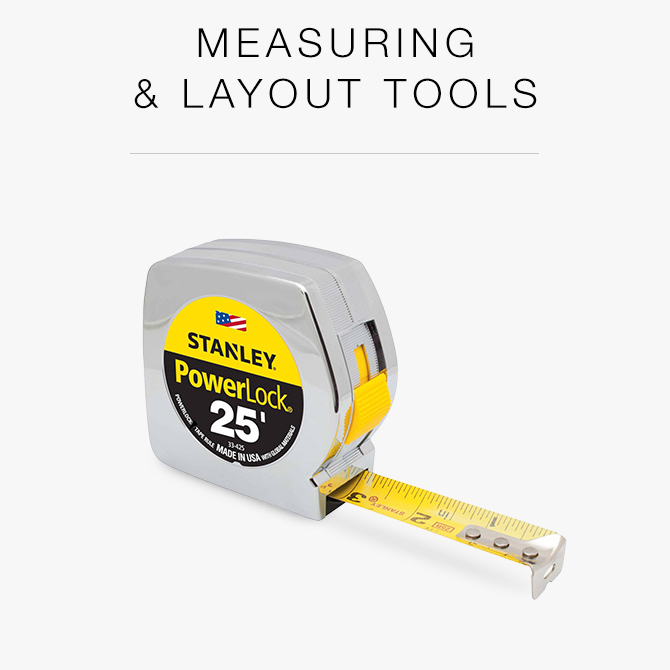 Measuring And Layout Tools