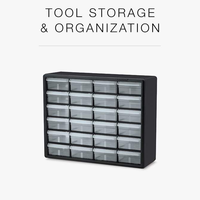 Tool Storage and Organization