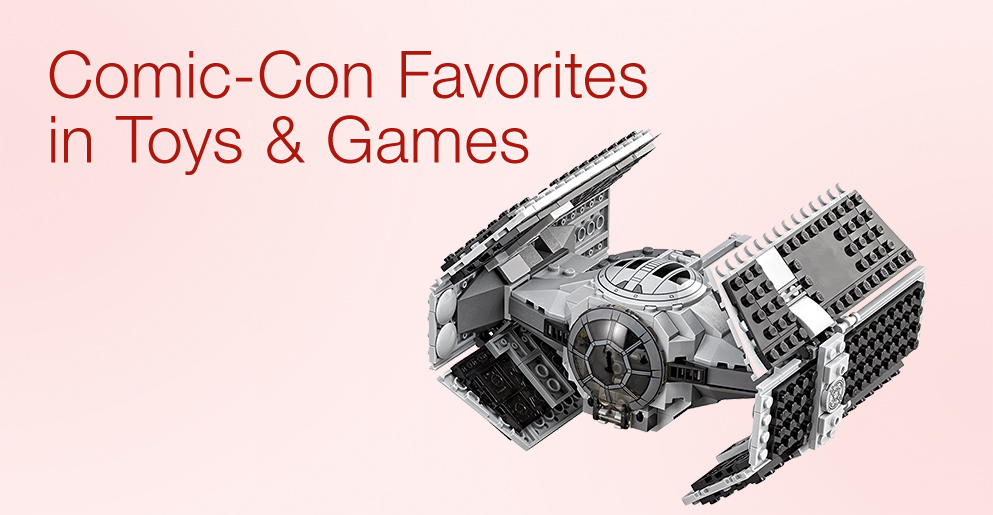 Comic Con Favorites in Toys & Games