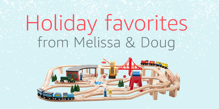 Holiday favorites from Melissa & Doug