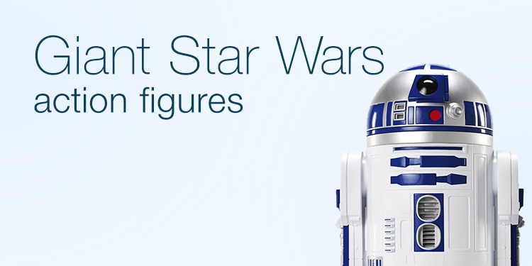 Giant Star Wars action figures
