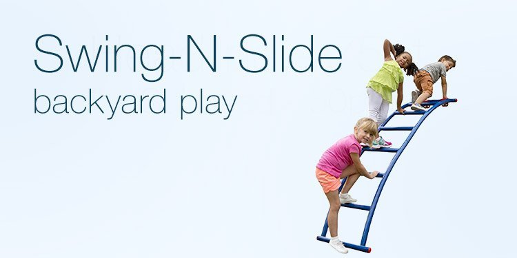 Swing-N-Slide backyard play