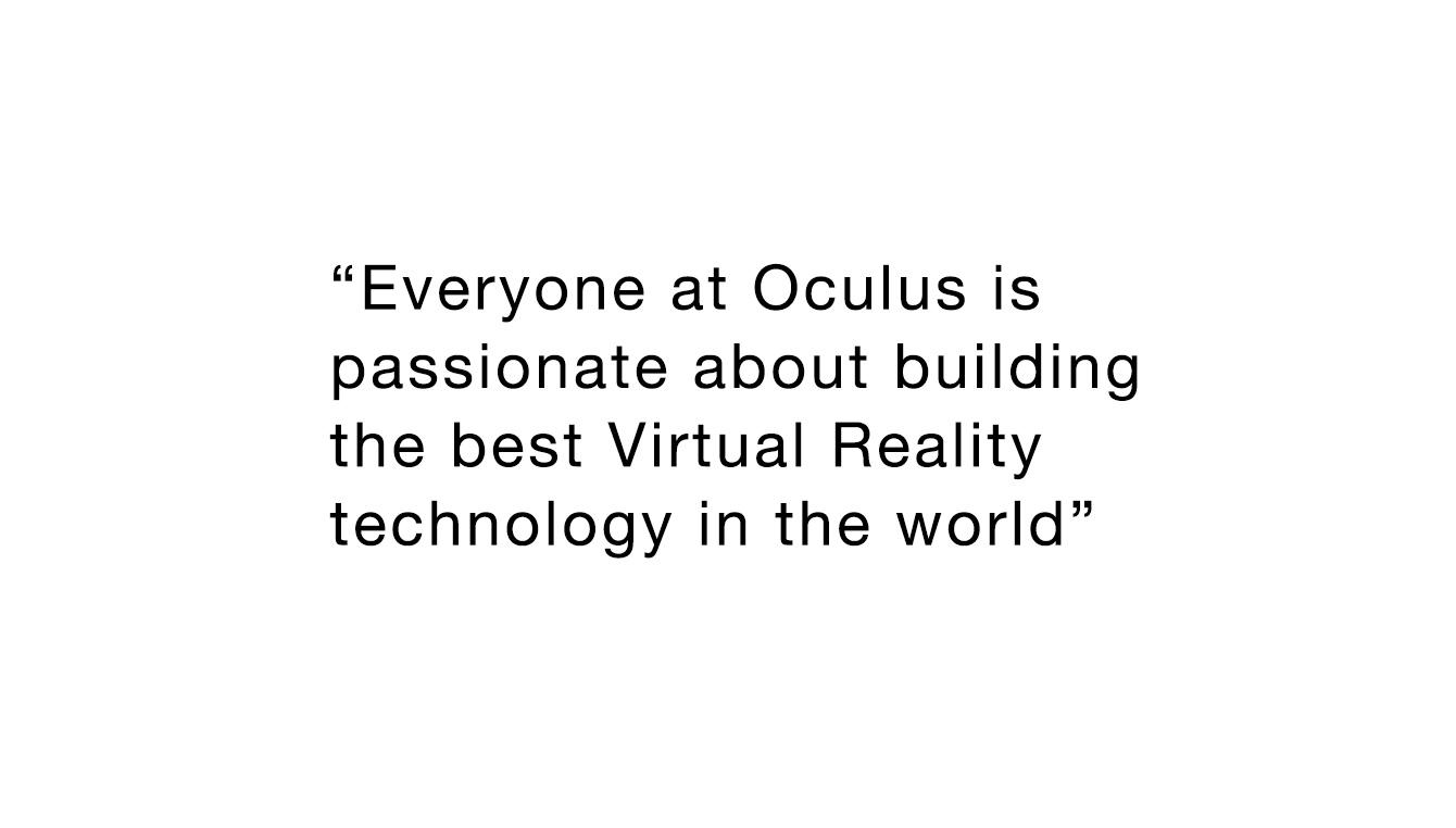 Oculus quote