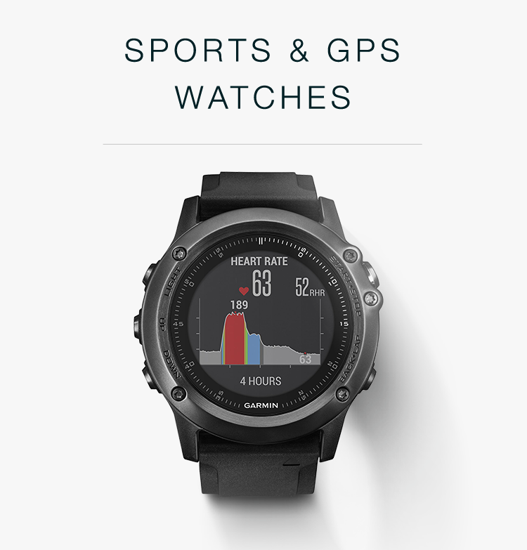 Sorts & GPS Watches