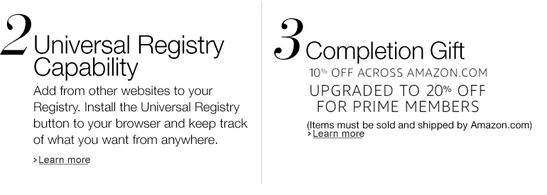 Amazon.com Wedding Registry