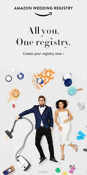 Shop Amazon - Create an Amazon Wedding Registry