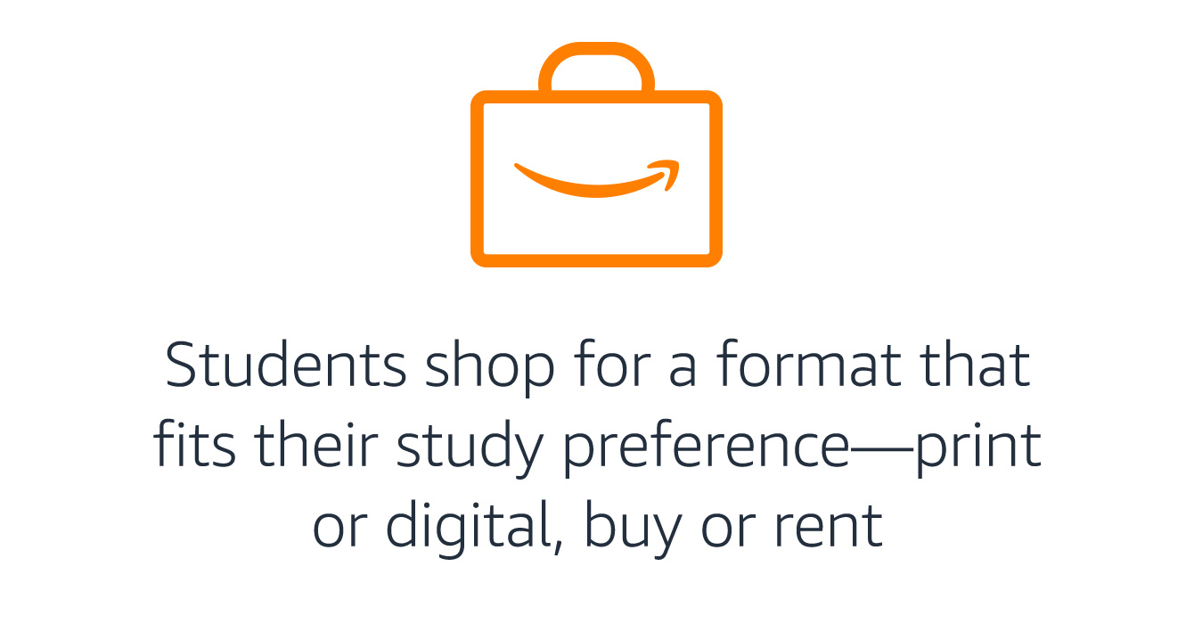 Students shop: print or digital, buy or rent