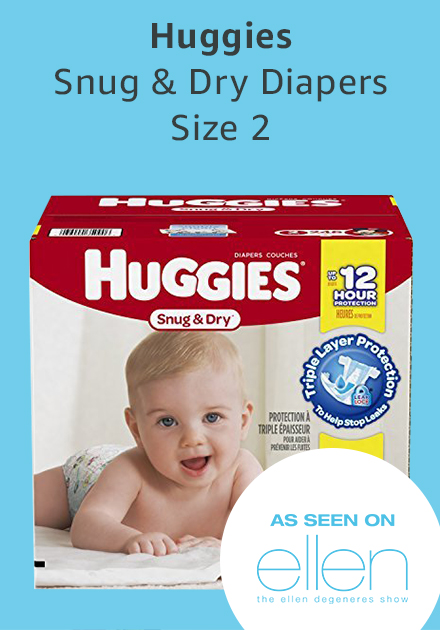 Huggies snug and dry diapers size 2