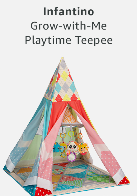 Infantino grow with me playtime teepee