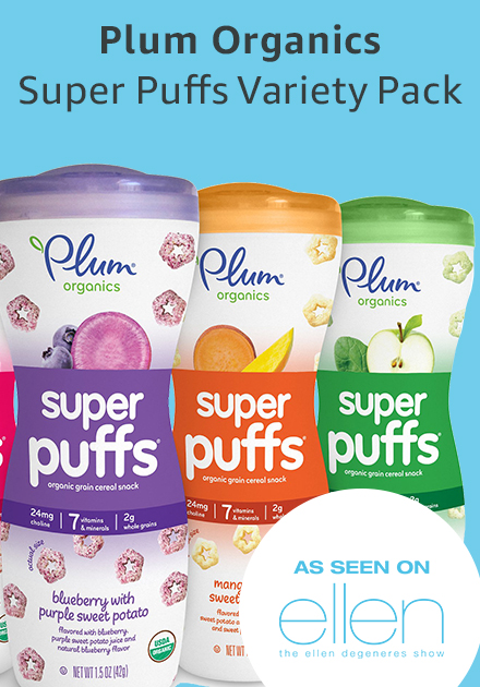 Plum organics super puffs variety pack