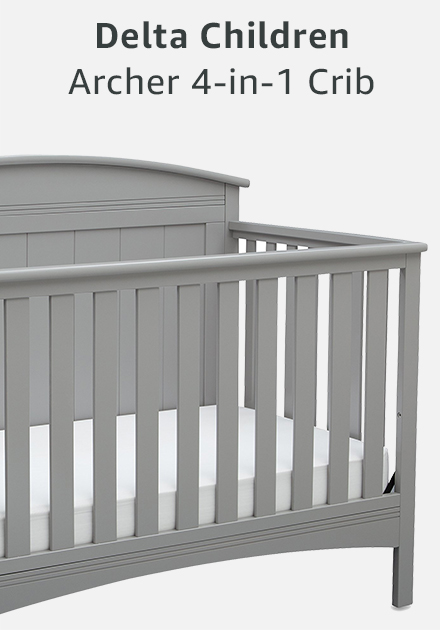 Delta children archer 4-in-1 crib