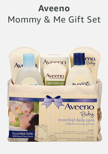 Aveeno mommy and me gift set