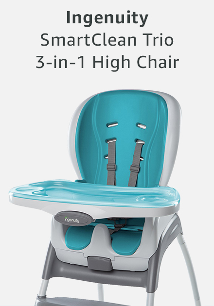 Ingenuity smart clean trio 3-in-1 high chair
