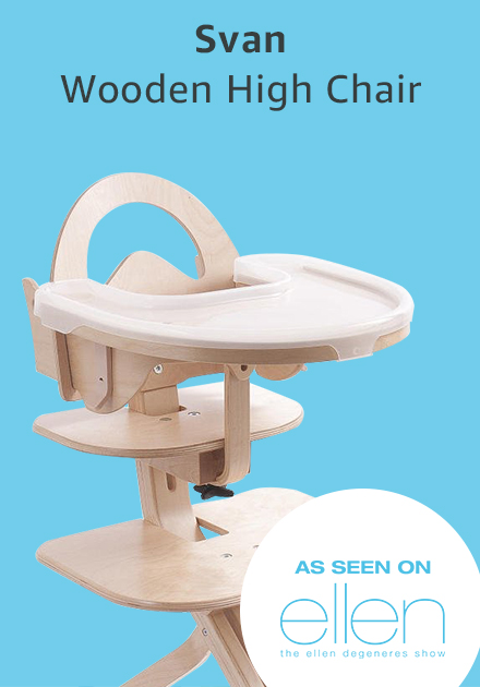 Svan wooden high chair