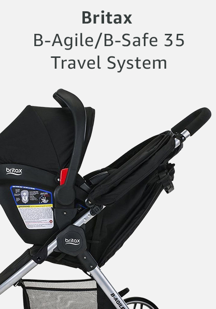Britax be agile and be safe 35 travel system