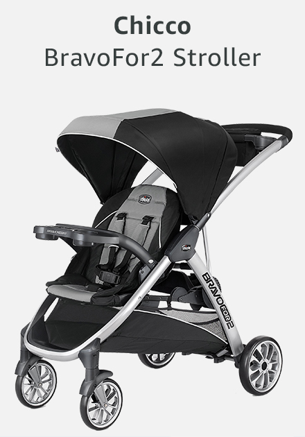 Chicco bravo for 2 stroller