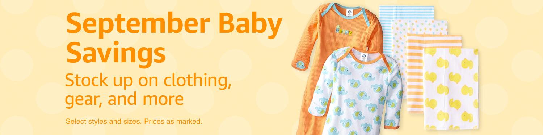 September Baby Sale