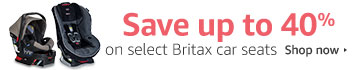 Up to 40% off select Britax car seats