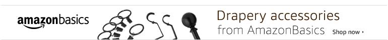 AmazonBasics Drapery Hardware