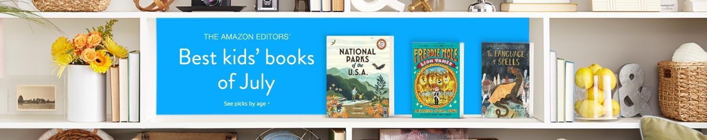 Best kids' books of July