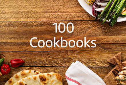 100 cookbooks