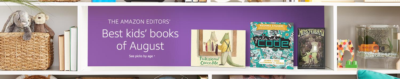 Best kids' books of August