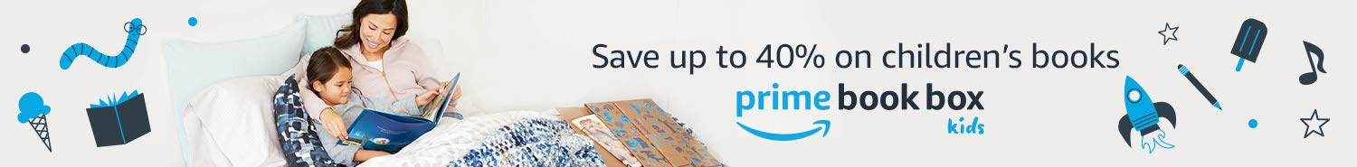 Save up to 40% on children's books with Prime Book Box