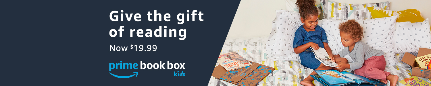 Give the gift of reading with Prime Book Box