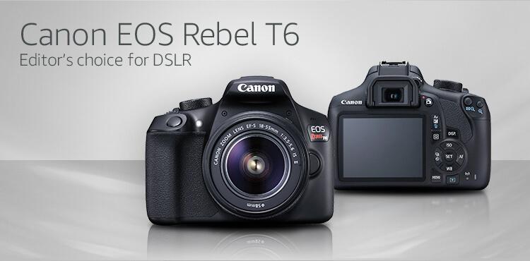 amazon com interchangeable lens camera buying guide electronics rh amazon com Canon Rebel T6 Canon EOS Rebel T3i