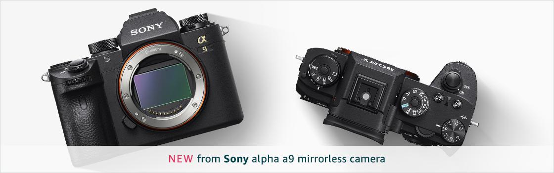 New Sony Alpha a9 mirrorless camera