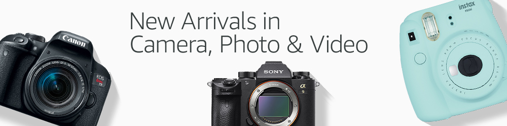 New Arrivals in Camera, Photo & Video