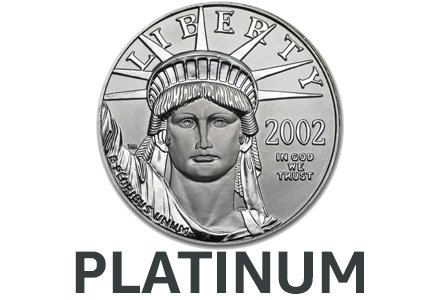 Platimun Collectible Coins