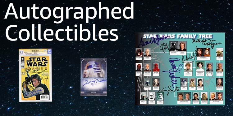 Amazon Collectibles: Autographs