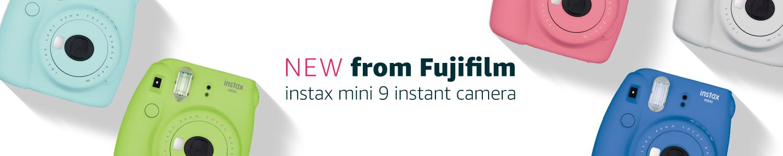 New Fujifilm instax mini 9 instant camera
