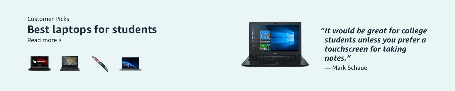 Best laptops for students according to our customers