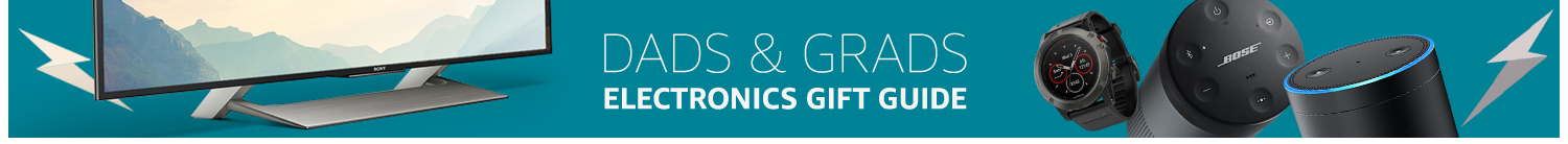 Electronics Gift Guide: Dads & Grads