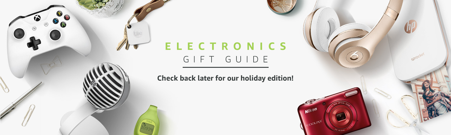 Electronics Gift Guide is closed for the season. Check back later for our holiday edition!