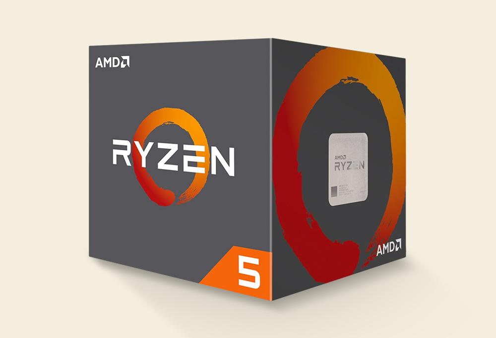 AMD Ryzen 5 1600 Processor + Cooler