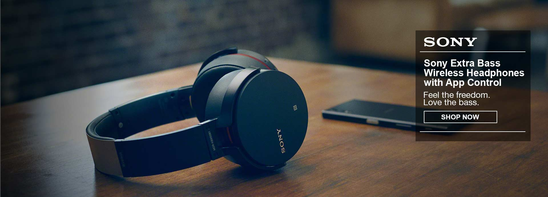 Check out the Sony XB950B1 Extra Bass Wireless Headphones with App Control (2017 model)