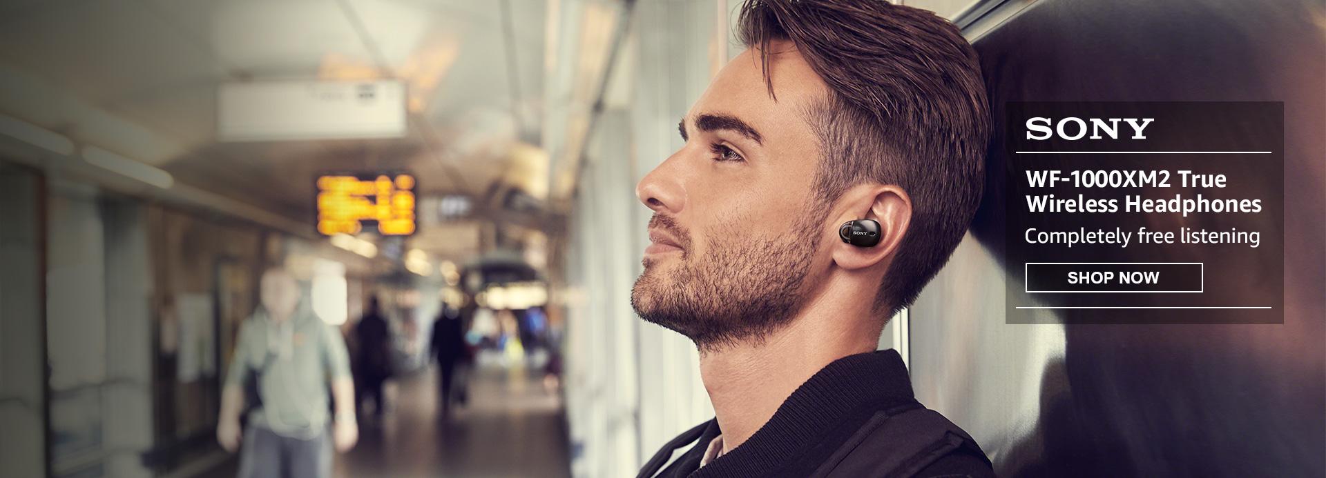 WF-1000X True Wireless Headphones