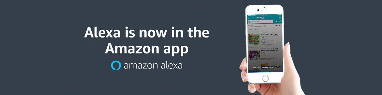 Alexa is now in the Amazon App